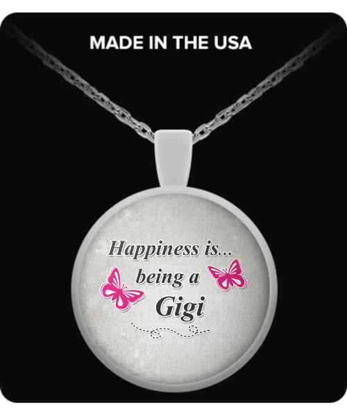 Happiness is being a GIGI Necklace - TeeAmazing - 2