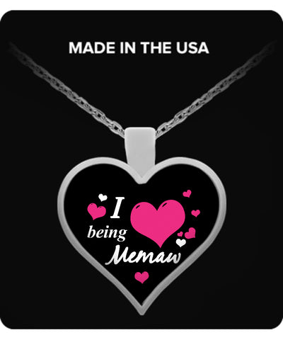 I being MEMAW Necklace - TeeAmazing - 1