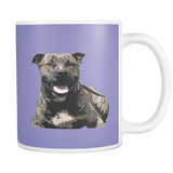 Staffordshire Bull Terrier Dog Mugs & Coffee Cups - Staffordshire Bull Terrier Coffee Mugs - TeeAmazing - 7