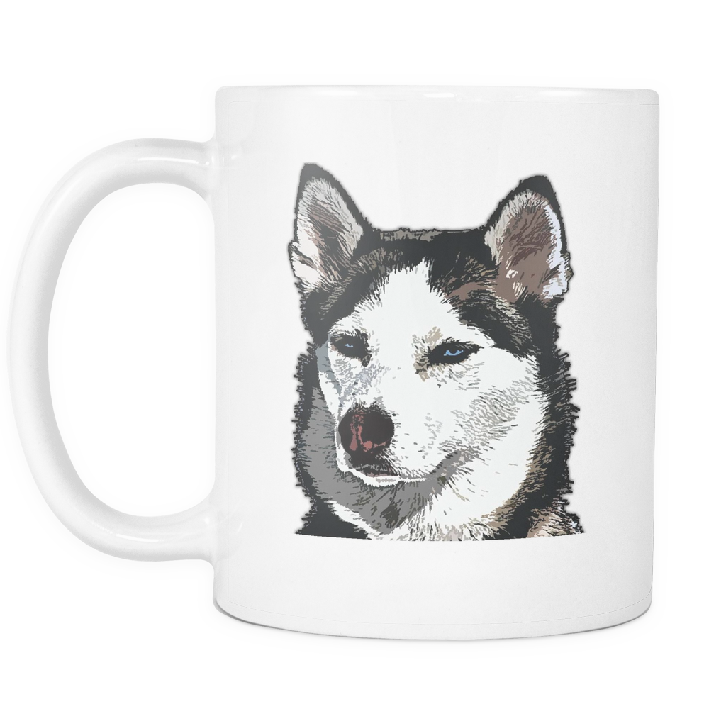 Siberian Husky Dog Mugs & Coffee Cups - Siberian Husky Coffee Mugs - TeeAmazing