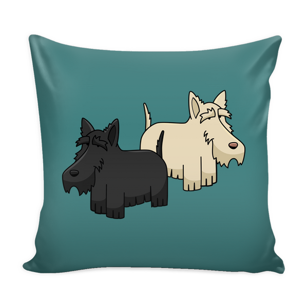 Scottish Terrier Dog Pillow Cover - Scottish Terrier Accessories - TeeAmazing - 3