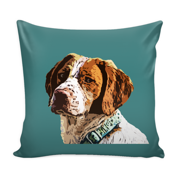 Brittany Spaniel Dog Pillow Cover - Brittany Spaniel Accessories - TeeAmazing - 3