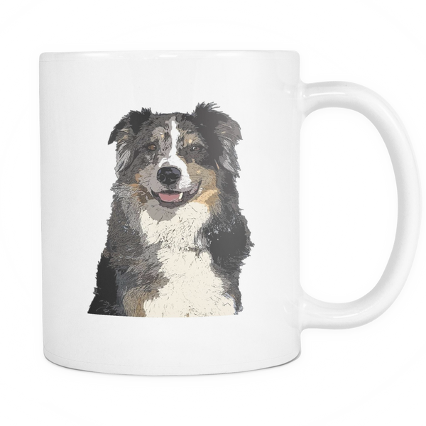 Australian Shepherd Dog Mugs & Coffee Cups - Australian Shepherd Coffee Mugs - TeeAmazing - 1