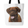 Dogues de Bordeaux Dog Tote Bags - Dogues de Bordeaux Bags - TeeAmazing - 1