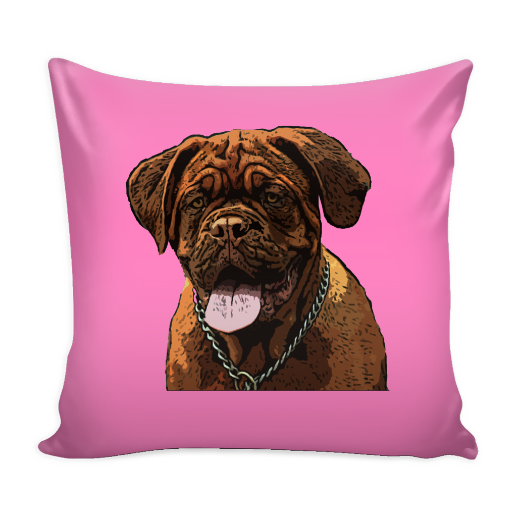 Dogues de Bordeaux Dog Pillow Cover - Dogues de Bordeaux Accessories - TeeAmazing