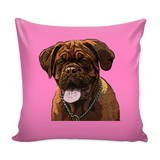 Dogues de Bordeaux Dog Pillow Cover - Dogues de Bordeaux Accessories - TeeAmazing - 4
