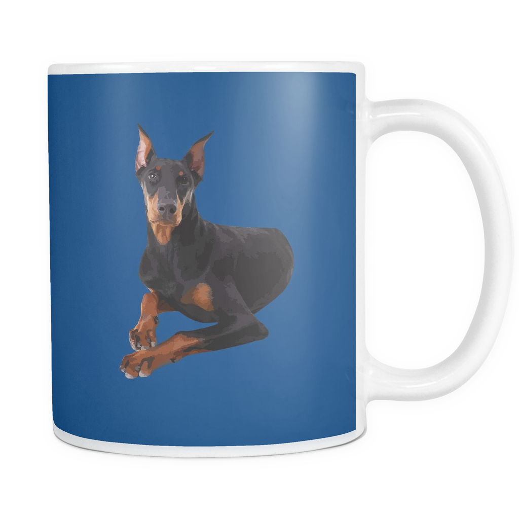 Doberman Pinscher Dog Mugs & Coffee Cups - Doberman Pinscher Coffee Mugs - TeeAmazing