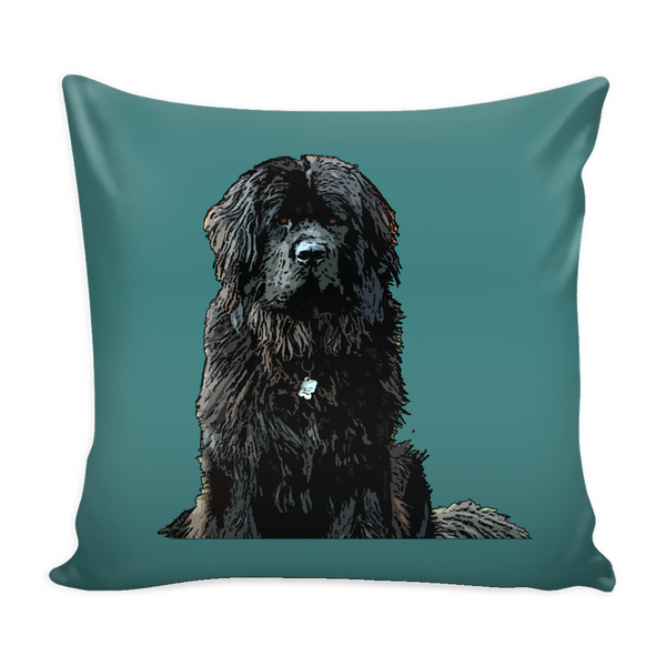 Newfoundland Dog Pillow Cover - Newfoundland Accessories - TeeAmazing - 3