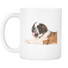 St. Bernard Dog Mugs & Coffee Cups - St. Bernard Coffee Mugs - TeeAmazing - 2