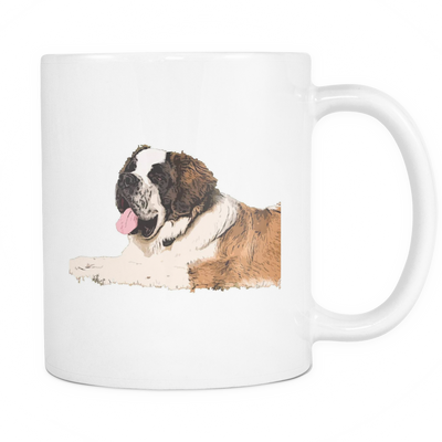 St. Bernard Dog Mugs & Coffee Cups - St. Bernard Coffee Mugs - TeeAmazing - 1