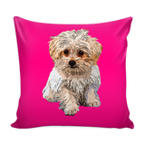 Maltese Dog Pillow Cover - Maltese Accessories - TeeAmazing - 3
