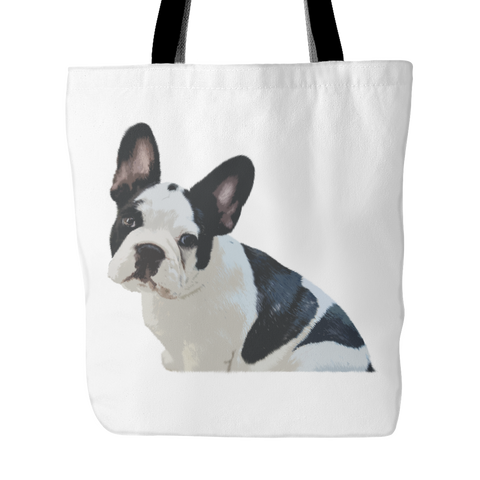 French Bulldog Dog Tote Bags - French Bulldog Bags - TeeAmazing
