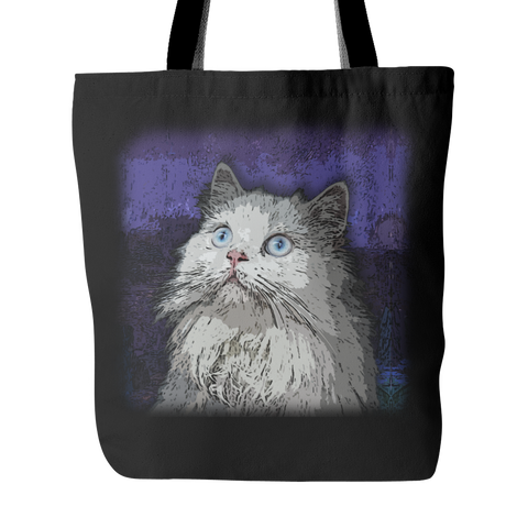 Persian Cat Tote Bags - Persian Terrier Bags - TeeAmazing - 1