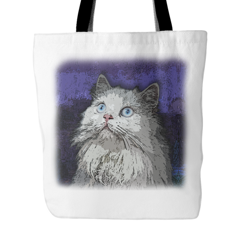 Persian Cat Tote Bags - Persian Terrier Bags - TeeAmazing - 2