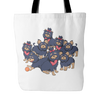 Pattern Yorkshire Terrier Dog Tote Bags - Yorkshire Terrier Bags - TeeAmazing - 2