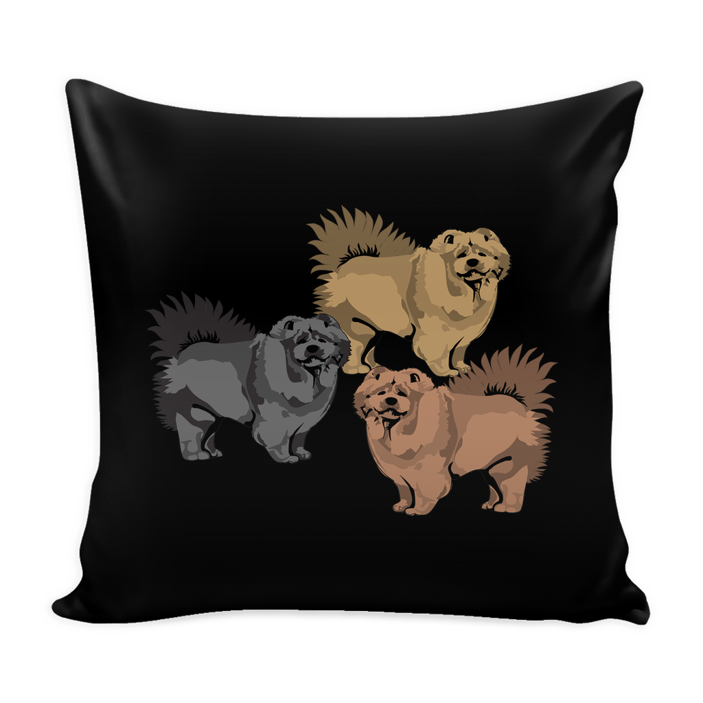 Chow Chow Dog Pillow Cover - Chow Chow Accessories - TeeAmazing