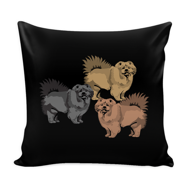 Chow Chow Dog Pillow Cover - Chow Chow Accessories - TeeAmazing - 2