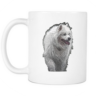 Samoyed Dog Mugs & Coffee Cups - Samoyed Coffee Mugs - TeeAmazing - 2
