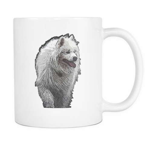 Samoyed Dog Mugs & Coffee Cups - Samoyed Coffee Mugs - TeeAmazing - 1