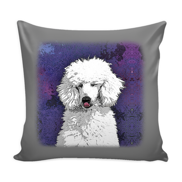 Painting Poodle Dog Pillow Cover - Poodle Accessories - TeeAmazing - 4