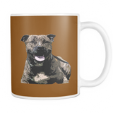 Staffordshire Bull Terrier Dog Mugs & Coffee Cups - Staffordshire Bull Terrier Coffee Mugs - TeeAmazing - 3