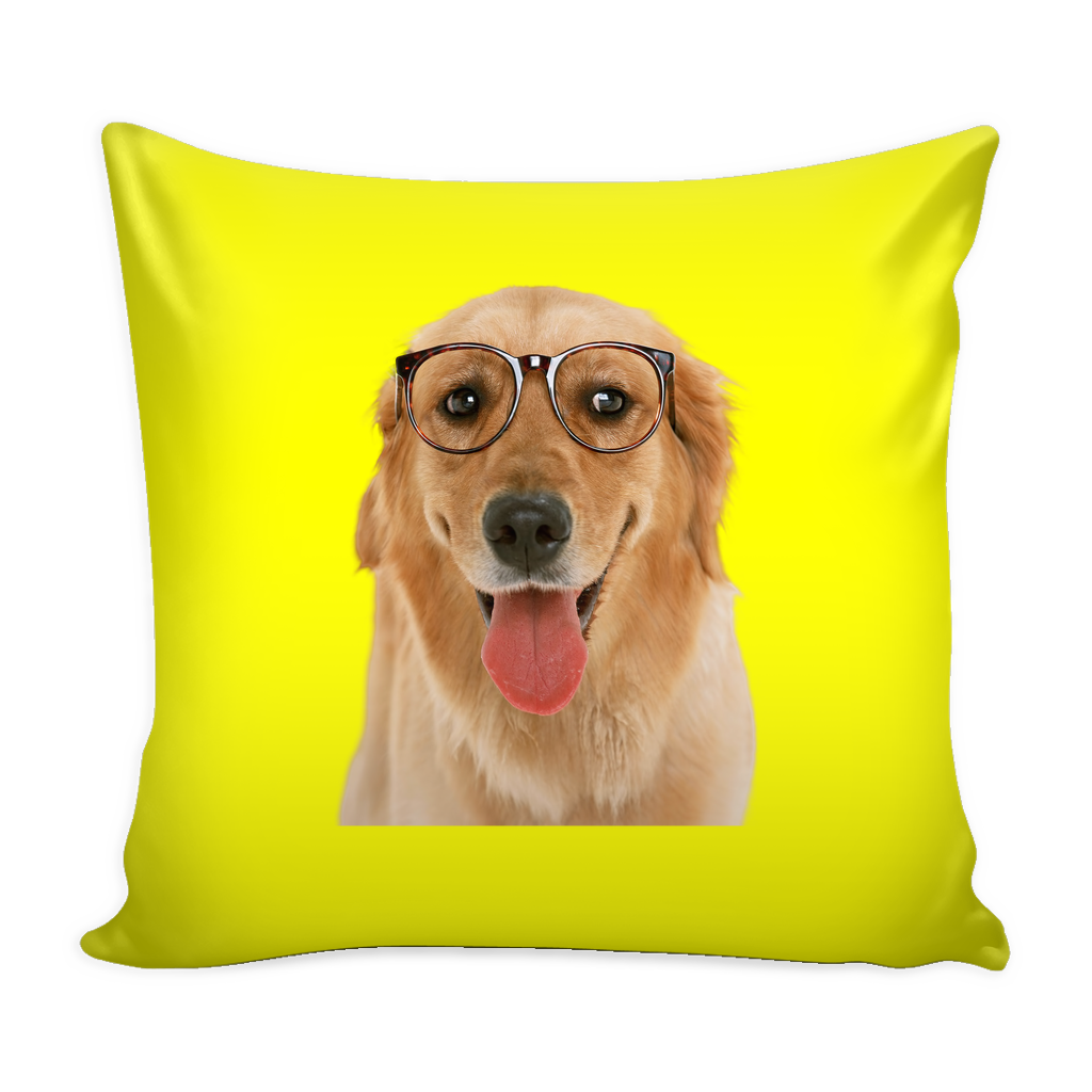 Golden Retriever Dog Pillow Cover - Golden Retriever Accessories - TeeAmazing