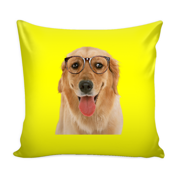 Golden Retriever Dog Pillow Cover - Golden Retriever Accessories - TeeAmazing - 3