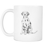 Dalmatian Dog Mugs & Coffee Cups - Dalmatian Coffee Mugs - TeeAmazing - 2