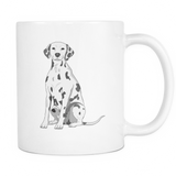 Dalmatian Dog Mugs & Coffee Cups - Dalmatian Coffee Mugs - TeeAmazing - 1