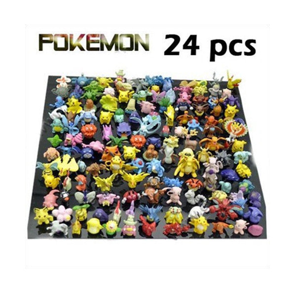 Wholesale Lots 24 pcs Pokemon mini random Pearl Figures 99167