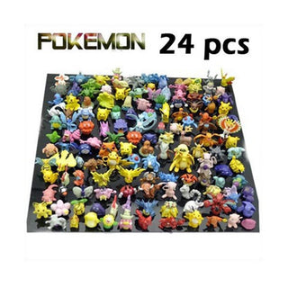 Wholesale Lots 24 pcs Pokemon mini random Pearl Figures - TeeAmazing