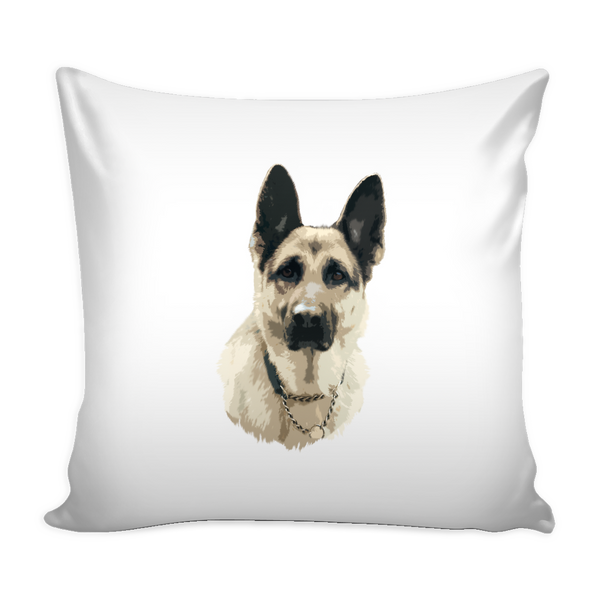 German Shepherd Dog Pillow Cover - German Shepherd Accessories - TeeAmazing - 2