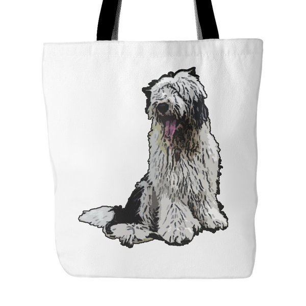 Old English Sheepdog Dog Tote Bags - Old English Sheepdog Bags - TeeAmazing - 2