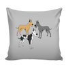 Great Dane Dog Pillow Cover - Great Dane Accessories - TeeAmazing - 3