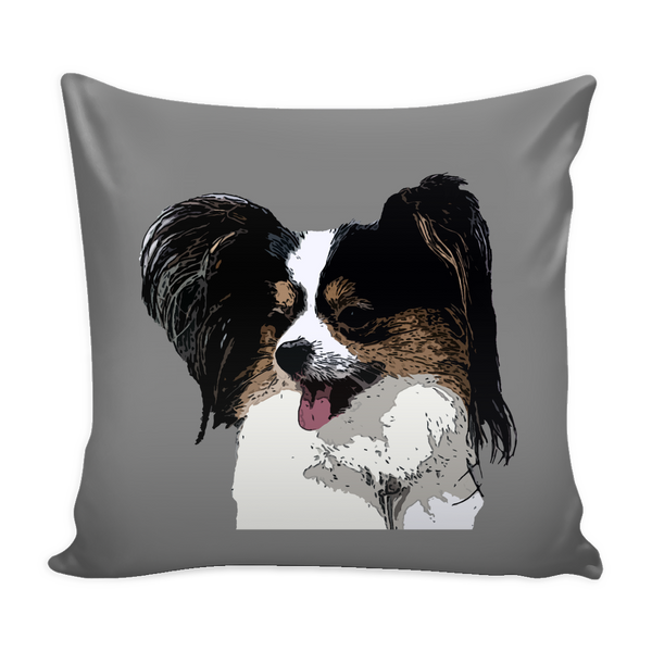 Papillon Dog Pillow Cover - Papillon Accessories - TeeAmazing - 2