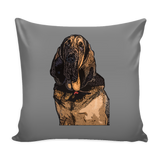 Bloodhound Dog Pillow Cover - Bloodhound Accessories - TeeAmazing - 2