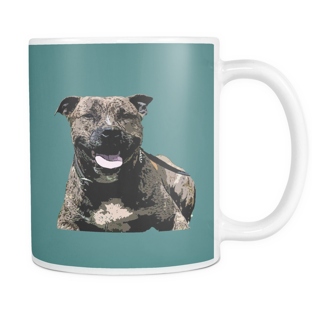 Staffordshire Bull Terrier Dog Mugs & Coffee Cups - Staffordshire Bull Terrier Coffee Mugs - TeeAmazing