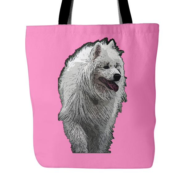 Samoyed Dog Tote Bags - Samoyed Bags - TeeAmazing - 4