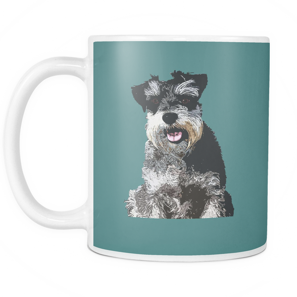 Miniature Schnauzer Dog Mugs & Coffee Cups - Miniature Schnauzer Coffee Mugs - TeeAmazing - 6