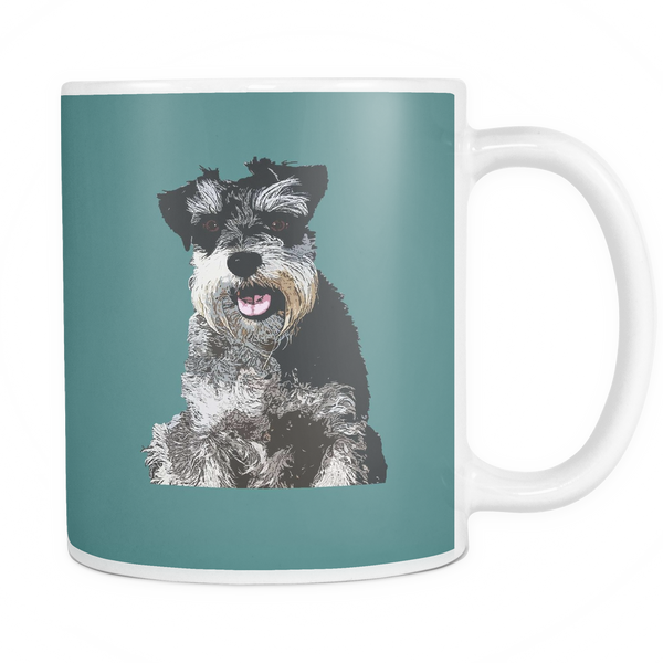 Miniature Schnauzer Dog Mugs & Coffee Cups - Miniature Schnauzer Coffee Mugs - TeeAmazing - 5