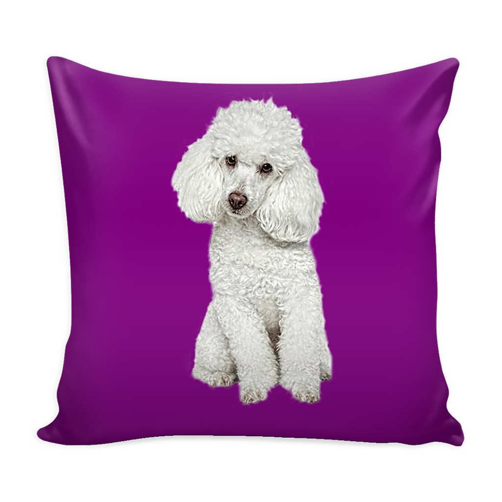 Poodle Dog Pillow Cover - Poodle Accessories - TeeAmazing