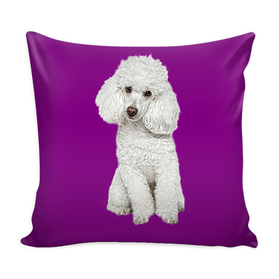Poodle Dog Pillow Cover - Poodle Accessories - TeeAmazing - 3