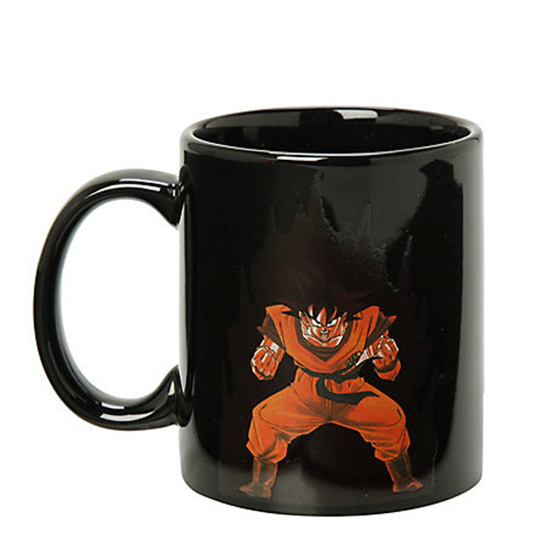 Dragon Ball Z Mug SON Goku Mug Hot Changing Color Cups Heat Reactive Mugs Super Saiyan Cups Milk Coffee Cup Mug Gift - TeeAmazing