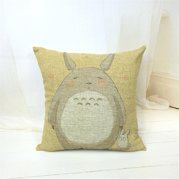 V.2 Totoro Pillow Cover Accessories - Totoro Gifts - TeeAmazing - 7