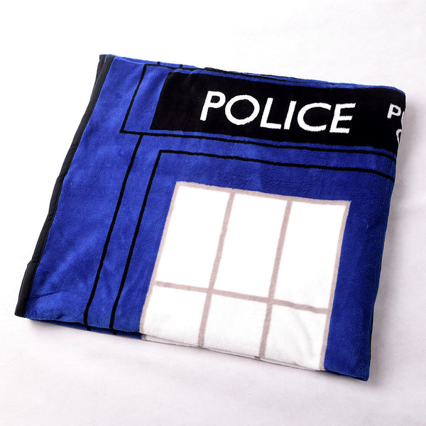 Tardis Coral Fleece Bedding Blanket Accessories - Doctor Who Gifts - TeeAmazing - 4