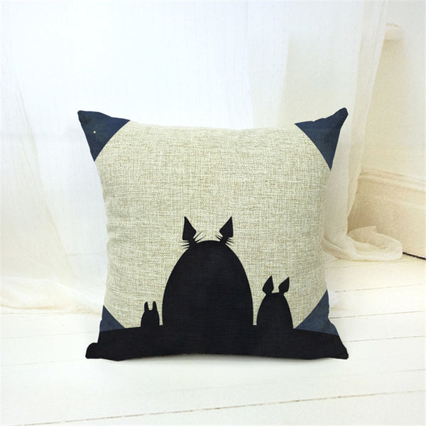V.2 Totoro Pillow Cover Accessories - Totoro Gifts - TeeAmazing - 6