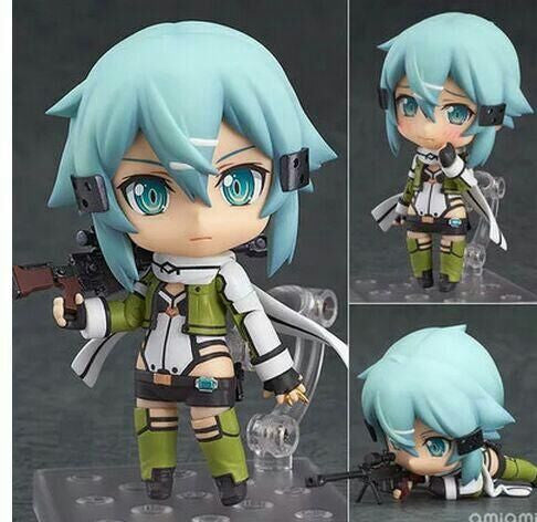 Sword Art Online Sinon Action Figure Accessories - Sword Art Online Gifts 241873-452-no-retailed-box