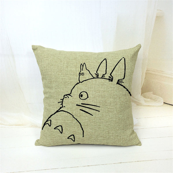 V.2 Totoro Pillow Cover Accessories - Totoro Gifts - TeeAmazing - 4