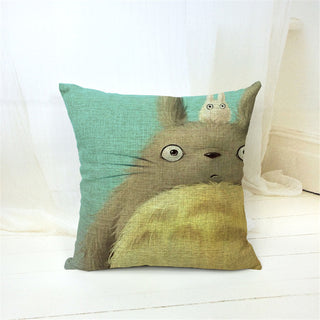 V.2 Totoro Pillow Cover Accessories - Totoro Gifts - TeeAmazing