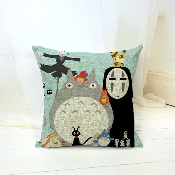 V.2 Totoro Pillow Cover Accessories - Totoro Gifts - TeeAmazing - 3